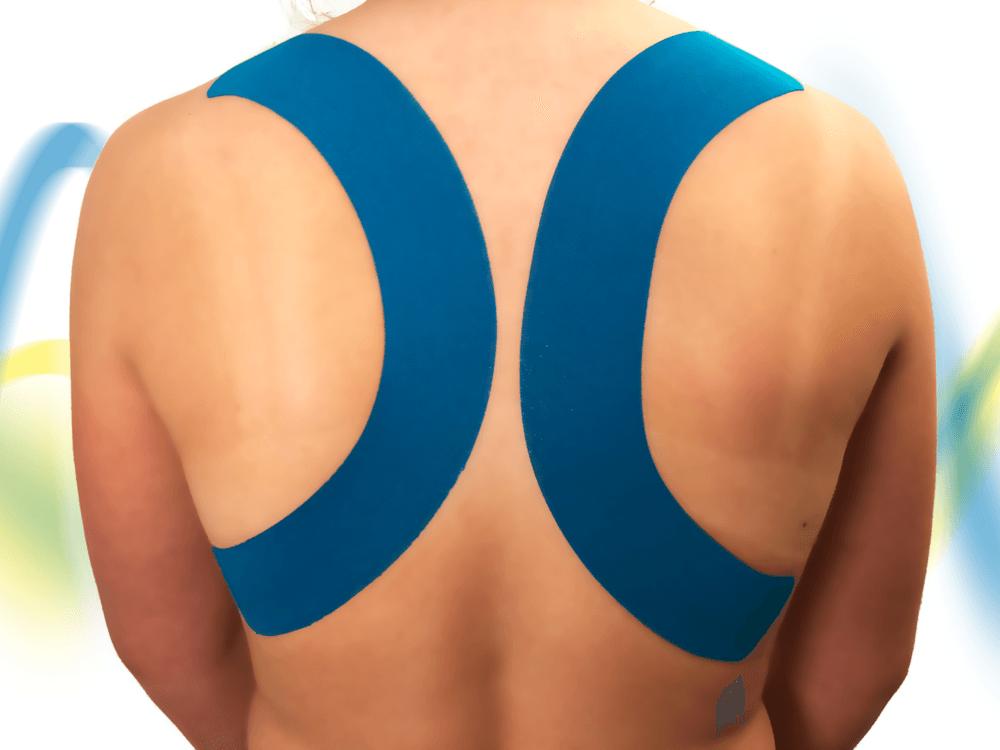 Hooikoorts-tape-blauw-rug